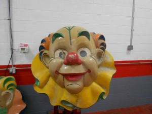 1950s Clown heads (1)