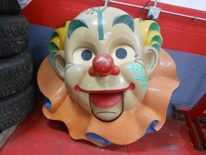 1950s Clown heads (4)