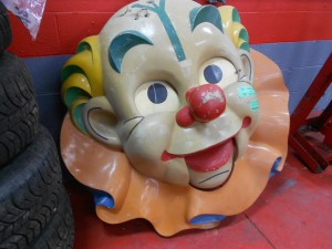 1950s Clown heads (5)