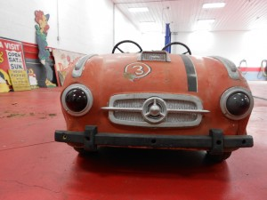 1950s orange mercedes carnival ride (3)