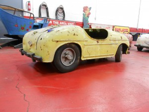 1950s yellow mercedes carnival ride (14)