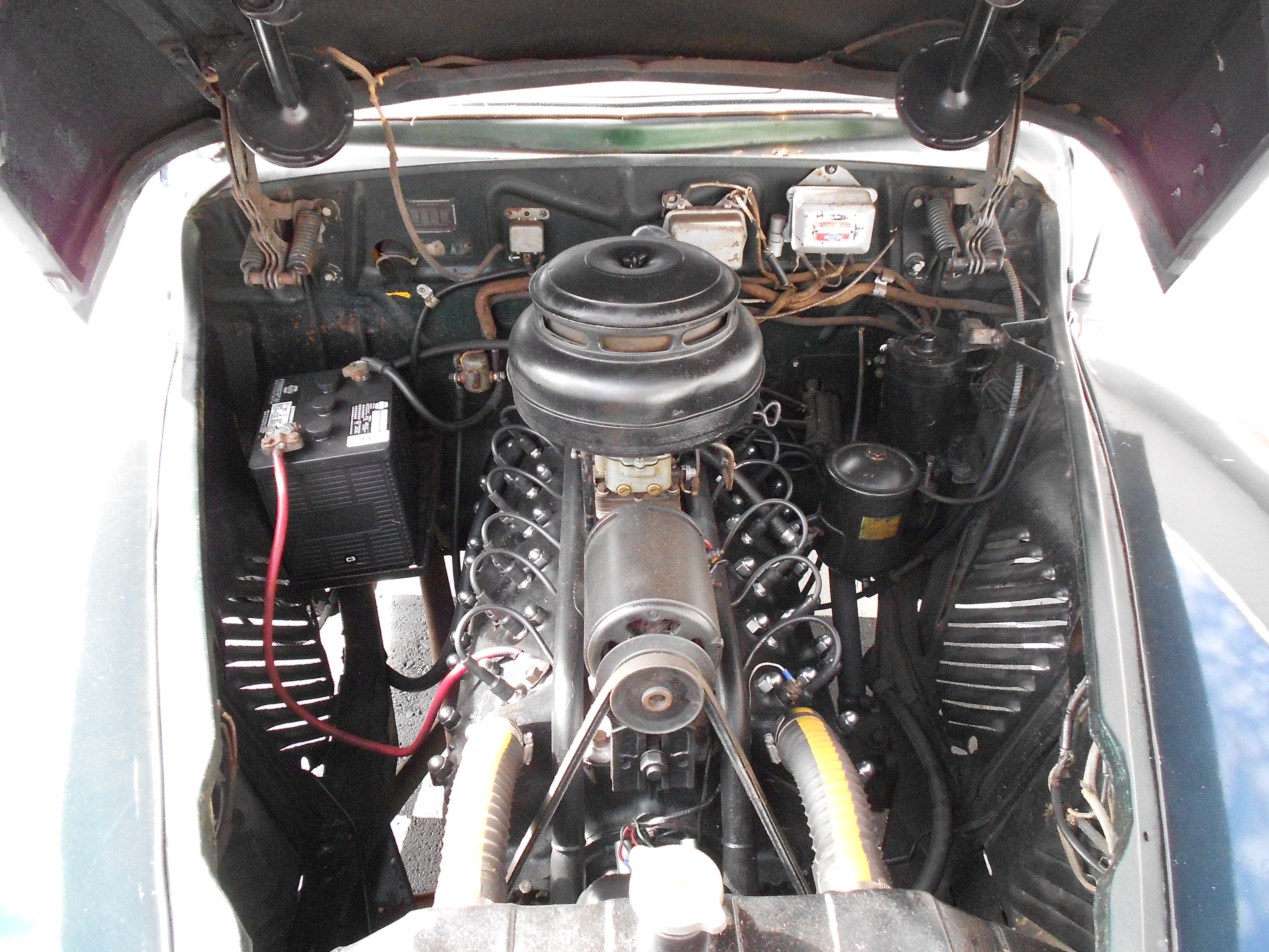 Sell Used 1947 Lincoln Zephyr V 12 Engine In Cookeville