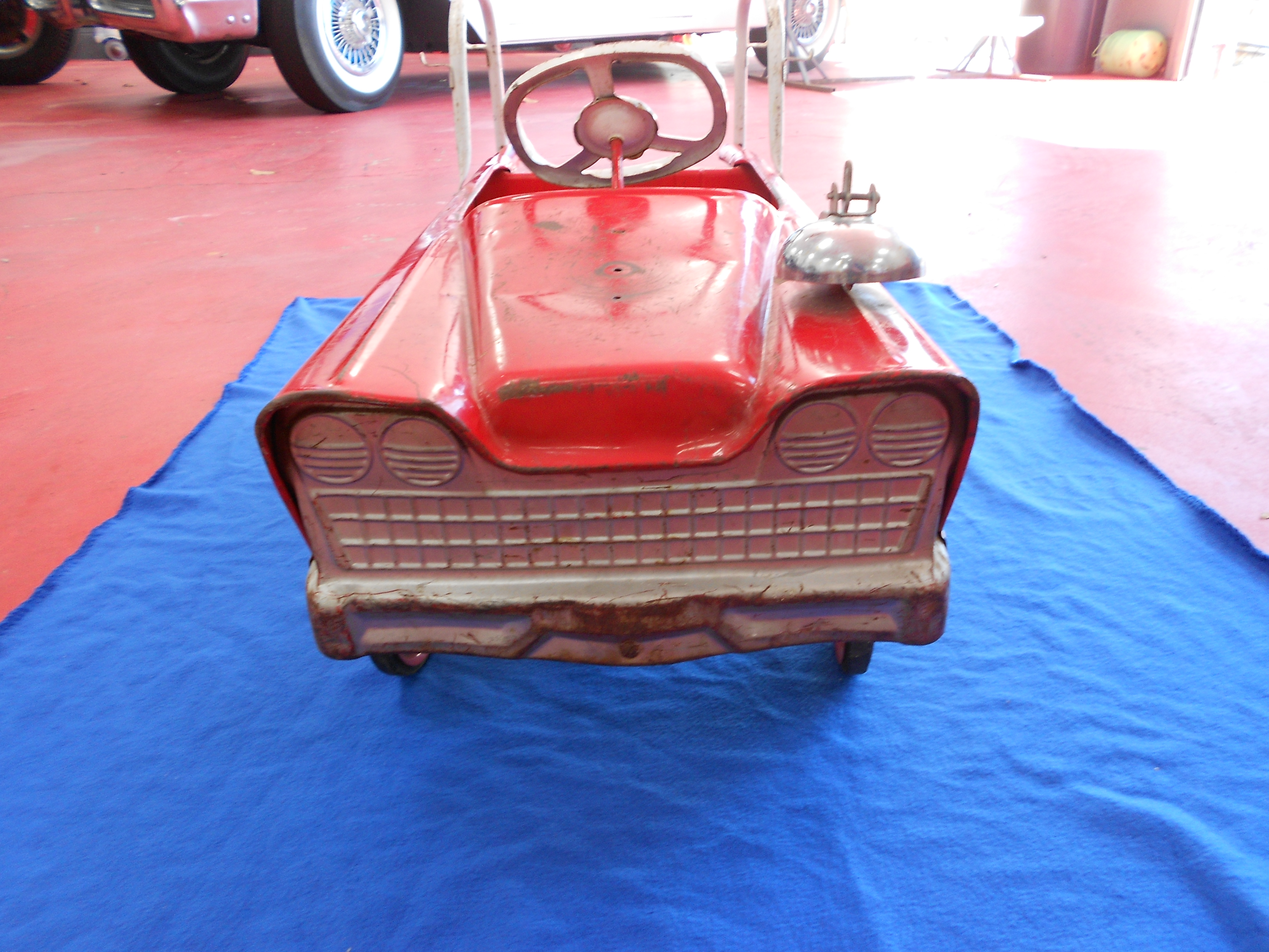 Vintage Pedal Car Parts : S murry fire truck pedal car buffyscars