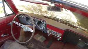 1961 CORVAIR CONVERTIBLE WHITE (16)