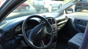 2005 Chrysler Town & Country Blue (16)